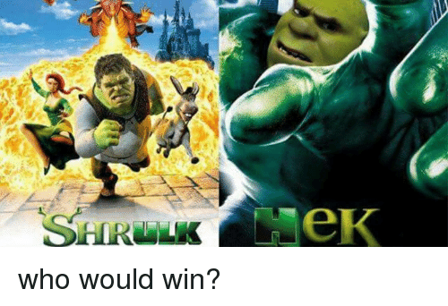 Who, Win, and Who-Would-Win: who would win?