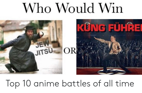 Anime Battles: Who Would Win  KUNG FÜHRE  JE  JITSU OR Top 10 anime battles of all time