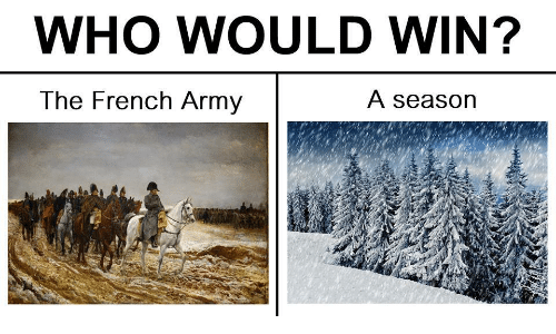 french army: WHO WOULD WIN?  The French Army  A season