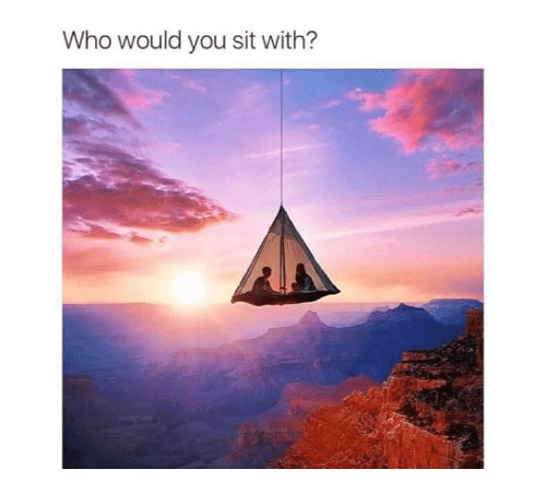 Funny: Who would you sit with?