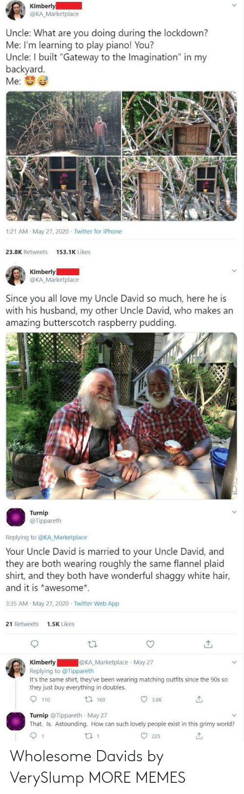 Wholesome: Wholesome Davids by VerySlump MORE MEMES