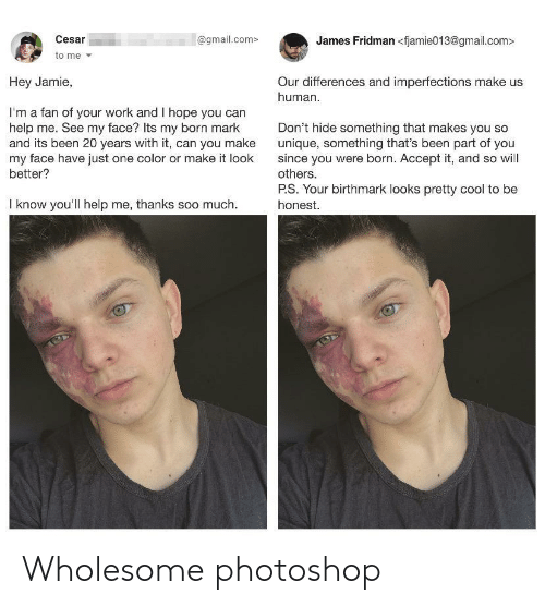 photoshop: Wholesome photoshop