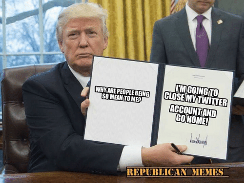 Republican Memes: WHY ARE PEOPLE BEING ITM GOINGITO  SOMEAN TO ME?  ACCOUNTAND  HOME!  REPUBLICAN MEMES