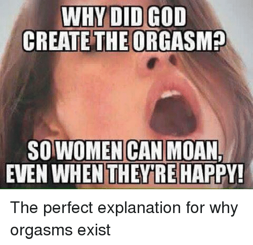 why women moan while having sex