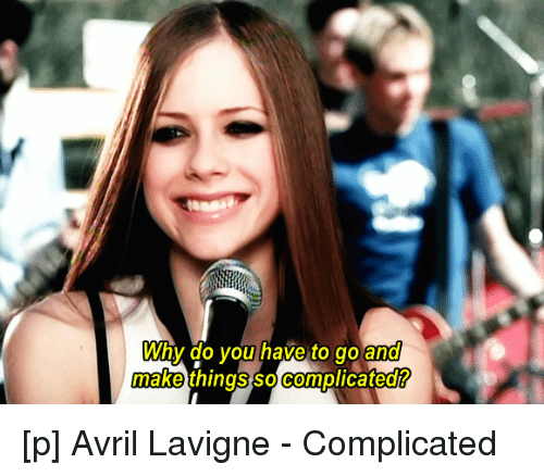 Funny Avril Lavigne Memes Of 2016 On SIZZLE