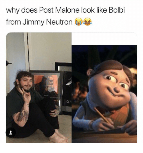 Where Does Post Malone Live: 25+ Best Memes About Bolbi