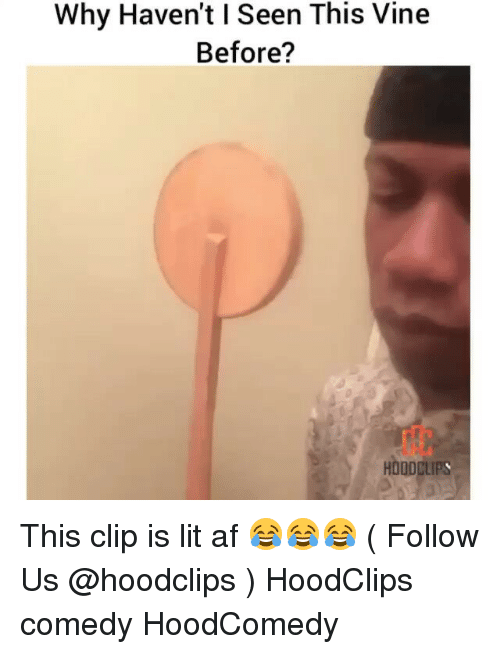 Funny, Lit AF, and Hoodcomedy: Why Haven't lSeen This Vine  Before? This clip is lit af 😂😂😂 ( Follow Us @hoodclips ) HoodClips comedy HoodComedy