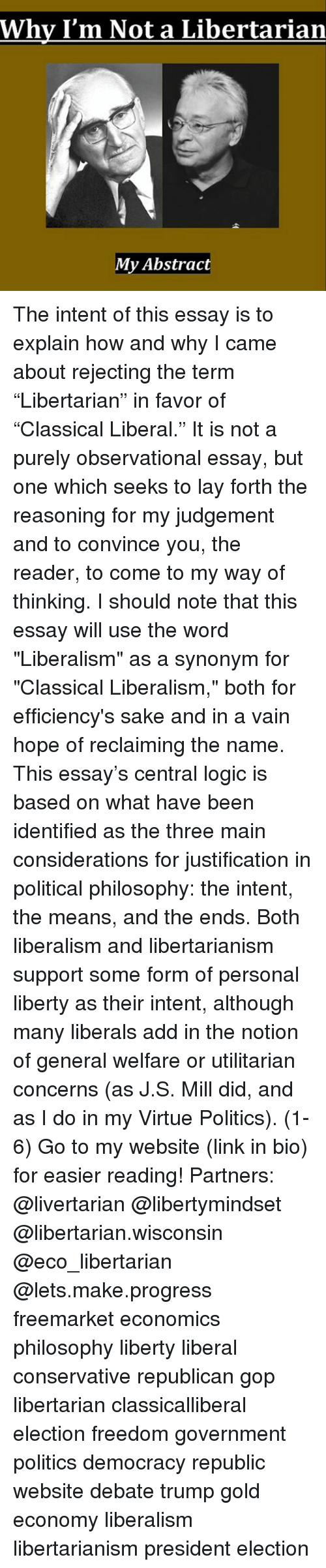 libertarian paper term Libertarian essay - the libertarian philosophy as said in mid term - take home hum 1020 critical analysis paper.