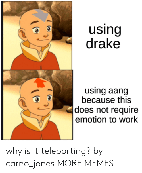Blank: why is it teleporting? by carno_jones MORE MEMES