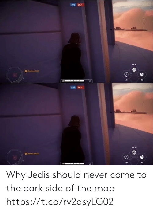 come to the dark side: Why Jedis should never come to the dark side of the map https://t.co/rv2dsyLG02