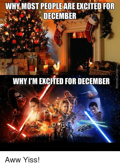 aww yiss: WHY MOST PEOPLEARE EXCITED FOR  DECEMBER  WHY I'M EXCITED FOR DECEMBER Aww Yiss!