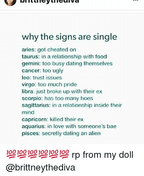 Busy relationship signs too for a Are You