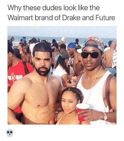Drake: Why these dudes look like the  Walmart brand of Drake and Future  KOR 💀