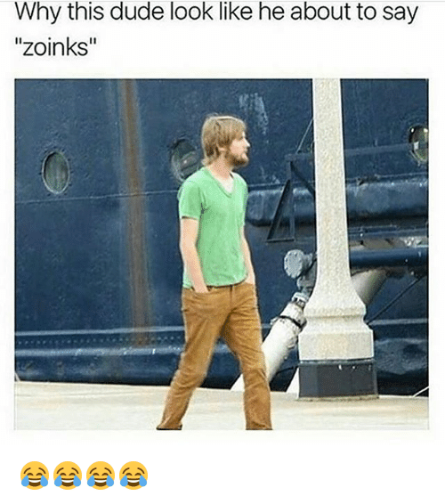 """Zoinks: Why this dude look like he about to say  """"zoinks"""" 😂😂😂😂"""