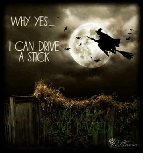 WHY YES CAN DRIVE A STICK