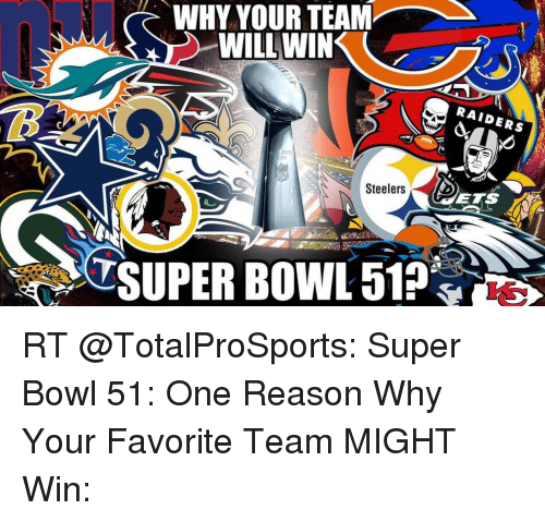 Nfl super bowl and bowling why your team will win steelers raiders