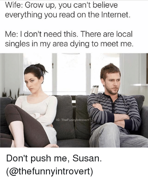 Where can i meet singles in my area