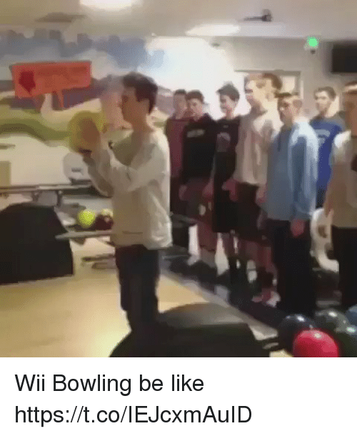 Be Like, Funny, and Bowling: Wii Bowling be like  https://t.co/IEJcxmAuID