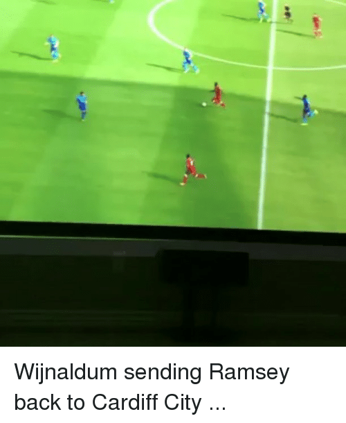 cardiff: Wijnaldum sending Ramsey back to Cardiff City ...