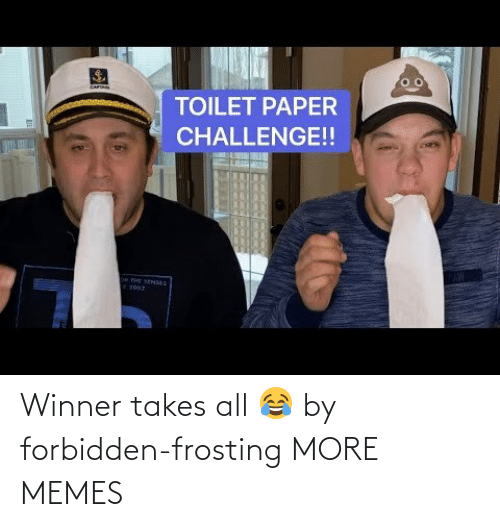 frosting: Winner takes all 😂 by forbidden-frosting MORE MEMES