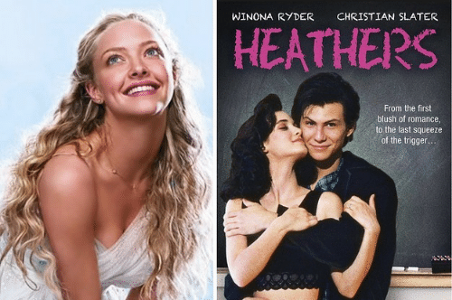 Winona Ryder: WINONA RYDER  CHRISTIAN SLATER  HEATHERS  From the first  blush of romance  to the last squeeze  of the trigger