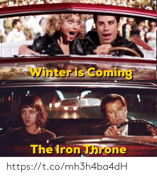 winter is coming: Winter is Coming  The Iron Throne https://t.co/mh3h4ba4dH