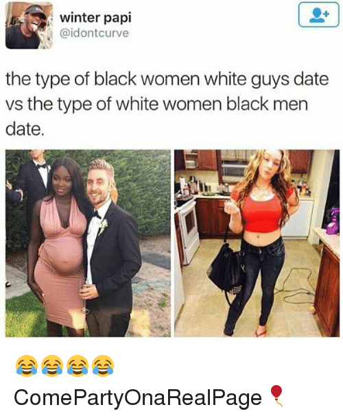 White guys vs black guys dating