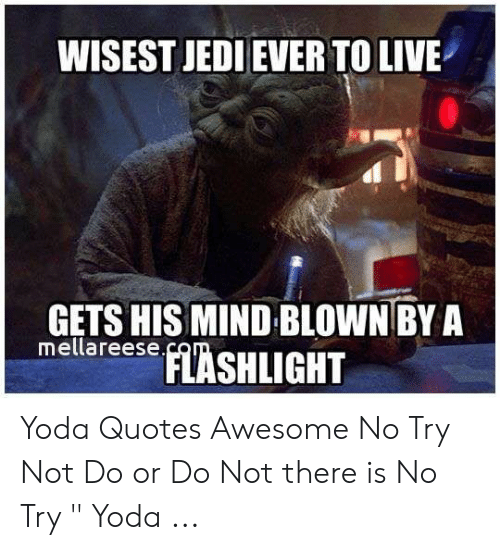 WISEST JEDI EVER TO LIVE GETS HIS MIND BLOWN BY a Mellareese ...