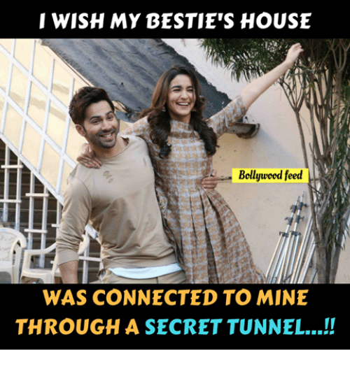 secret tunnel: WISH MY BESTIE'S HOUSE  Bellyueed feed  WAS CONNECTED TO MINE  THROUGH A SECRET TUNNEL..!!