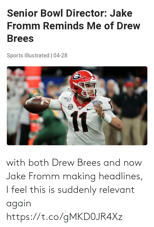 NFL: with both Drew Brees and now Jake Fromm making headlines, I feel this is suddenly relevant again https://t.co/gMKD0JR4Xz
