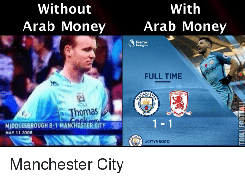Man City Funny: Funny Premier League Memes Of 2016 On SIZZLE
