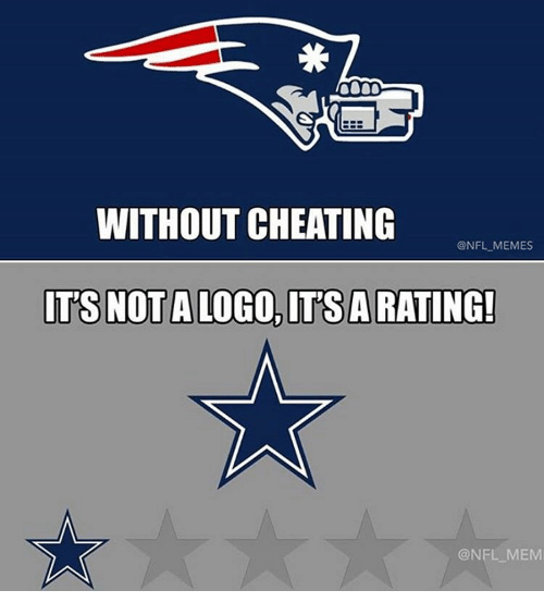 without cheating nfl memes its not a logo its arating 2478498 without cheating memes its not a logo its arating! mem cheating