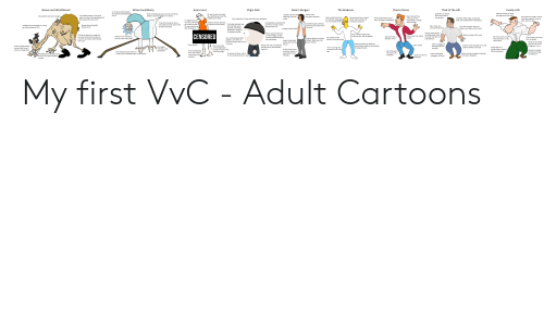 And Peggy: Wizard and Morty  Basic's Burgers  Chad-o-Rama  Beavis and WraithHead  The Bradsons  Thad of the Hill  Anim-incel  Virgin Park  Family LAD  An insult to autistic people -  Hated by Liberals for being  too edgy, sexist and racist  even literally retarded people  Lasted for 13 seasons,  Thinks including obscure pop culture refrences  makes it special and High IQ - it doesn't  OP was too lazy to actually  draw anything, just used the  pixelate tool instead  Decent show,  with good characters  Created to fill the void  after King of the Hill  The disabled nature of Cornholio  didn't even have to  shun it  Very powerful anti war messages  Main charcters fly a  starship, can't be  constrained to a virgin  office building  Only Impact on modern culture  is the Peter explains it meme,  Tries to bully Family Guy  for relying on cheap gags,  Turned homer from a loving  exerts so many virtue signaling points  that staceys flock to see him  be rebooted  SHow lasted many seasons  Created by Mike Judge, an absolute  chad, who created many masterpieces  Only watched by 12 year olds and literal neckbeards  ended  father with some flaws to  even surviving 2 cancellations  It's degeneracy was  too much, OP had to  get a preist to bless  his copy of paint.net  after 'drawing' it  which died in a week  isn't much better itself  an abusive alchoholic  Made by wimpy Japanese,  Islamaphobic and antisemitic,  yet still too scared to show  Proves the horseshoe theory -  Sometimes gets bullied by  brad and Chad, doesnt care  Only older episodes have  any meaning, newer  episodes are entirely  dedicated to hating on  instead of Proud Koreans  only watches by the worst of the  far left and far right  Stench attracts beautiful  Headphones have stayed on so long,  got a job working for MTV  Set in Texas, the  Hank sells propane, the most  badass and chadly of all the fuels  Mohammed on air  female furries  too much  3rd most chad state  Average, realistic plots  PC people and SJWS  Le