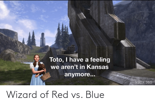 Red vs. Blue: Wizard of Red vs. Blue