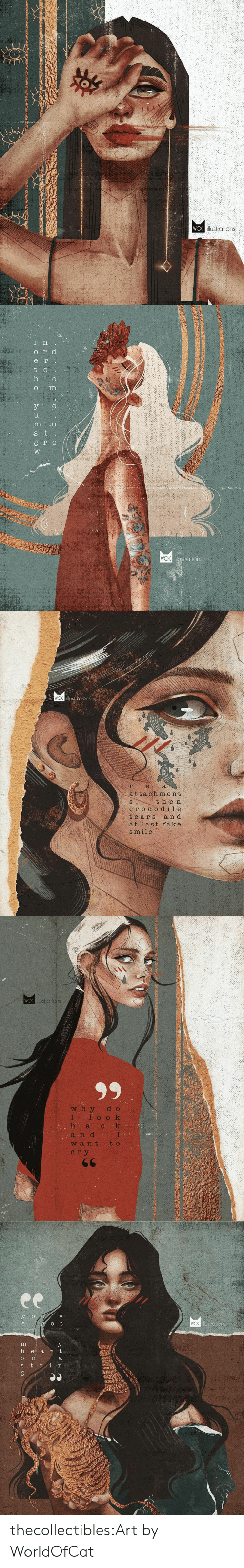 Tri: WOC illustrations   ег.  t o  b 1 o  о  о  8 го  strations  WOC  ИИАНА  Ее  . ВЕЯ 0о  - Н О Ф   WO illustiations  a  е.  attach ment  then  сгосоd ile  tears  a n d  at last fake  smile   WOO illostrations  99  w h y  I  b а  d o  1ооk  k  I.  t o  С  a n d  W a nt  сгу  66  ДИЗ  у к  мно   ее  illustrations  e  h е а r t  S tri thecollectibles:Art by  WorldOfCat