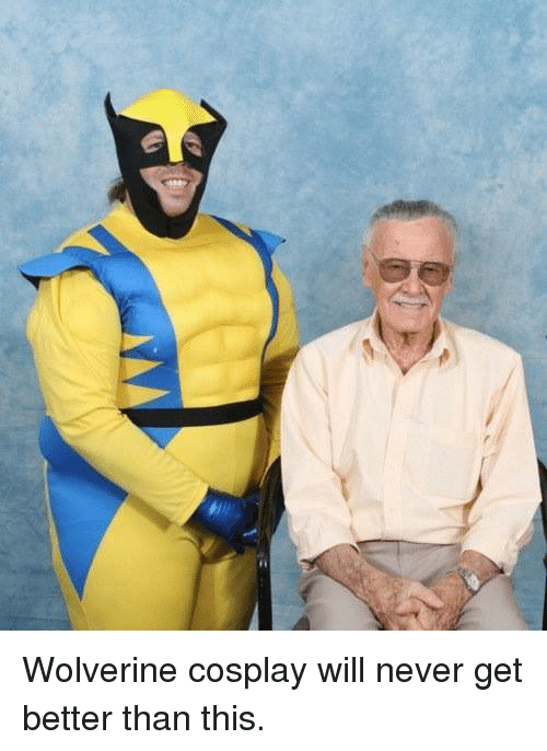 Memes, Wolverine, and Cosplay: Wolverine cosplay will never get better than this.