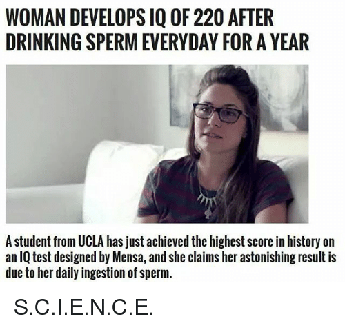 This petite Daily production of sperm tell you