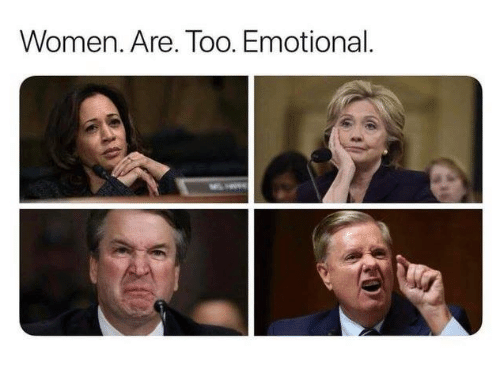 Memes, Women, and 🤖: Women. Are. Too. Emotional