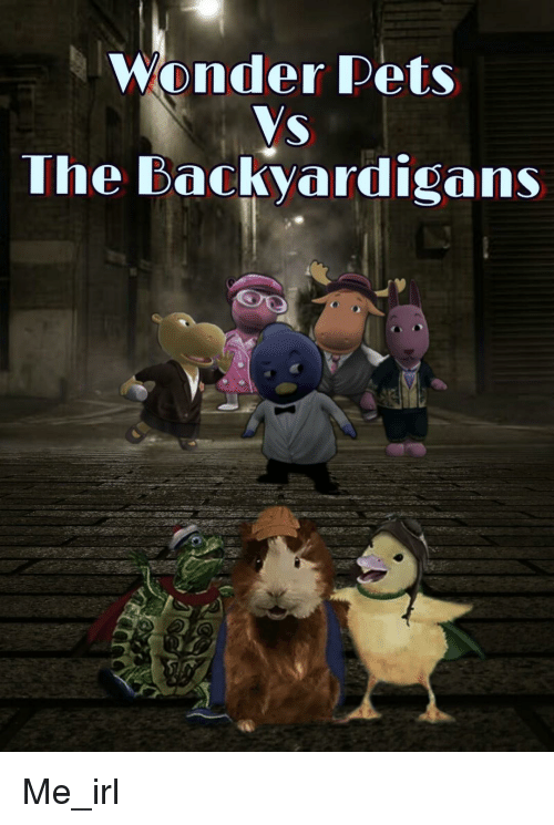 The Backyardigans: Wonder Pets  The Backyardigans