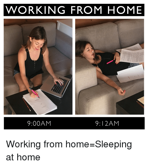 Home at work funny memes pictures to pin on pinterest for Work from home pictures