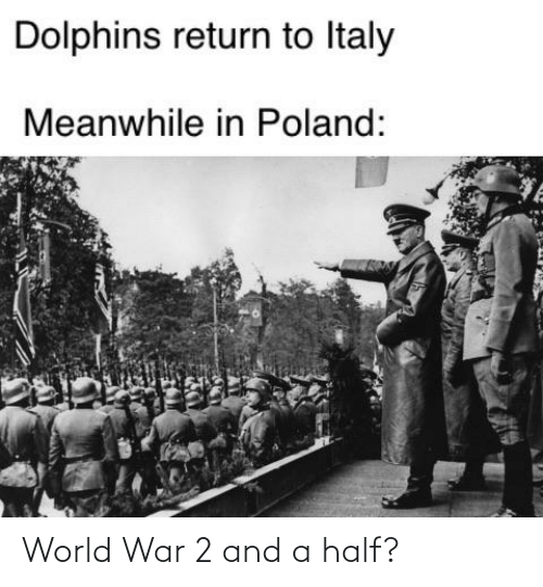 World War 2: World War 2 and a half?
