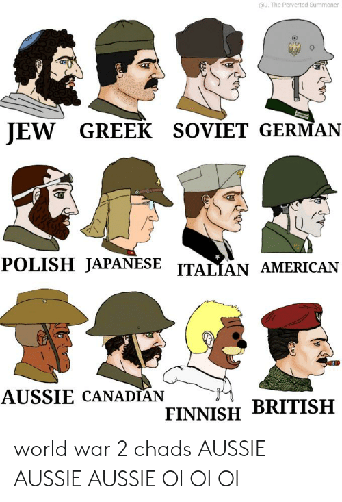 World War 2: world war 2 chads AUSSIE AUSSIE AUSSIE OI OI OI
