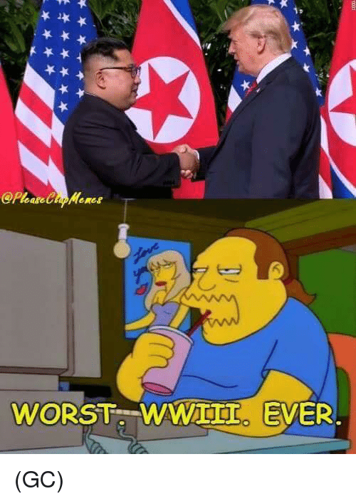 Memes, 🤖, and Worst: WORST WAWIII. EVER (GC)