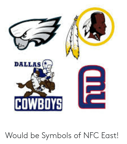 nfc east: Would be Symbols of NFC East!