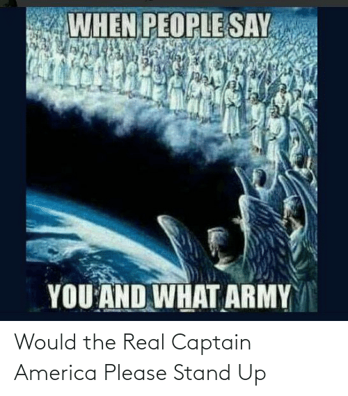 stand: Would the Real Captain America Please Stand Up