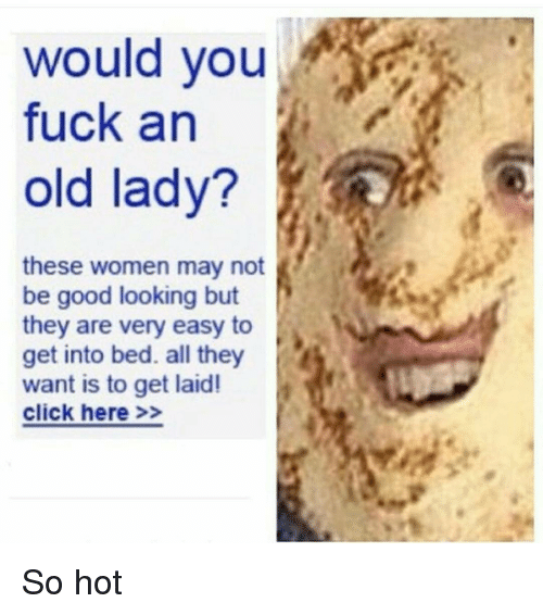 old women getting laid