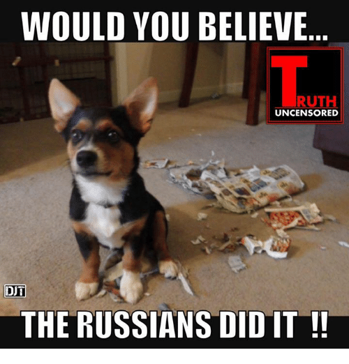 would youbelieve ruth uncensored dut the russians did it 11400542 🔥 25 best memes about the russians did it the russians did it,Russians Did It Meme