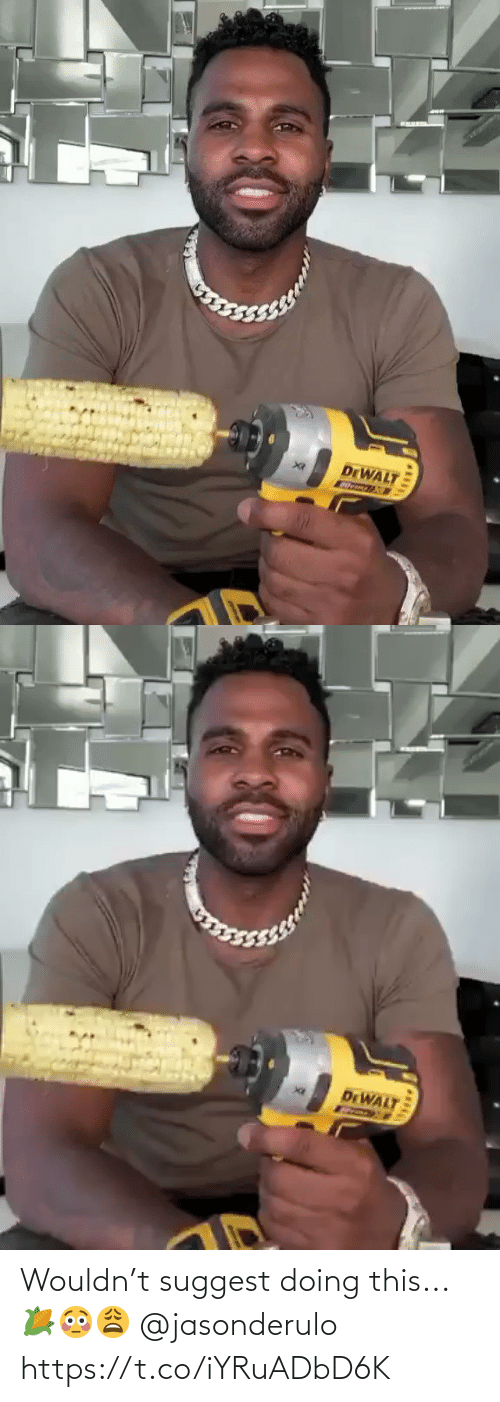 SIZZLE: Wouldn't suggest doing this...🌽😳😩 @jasonderulo https://t.co/iYRuADbD6K