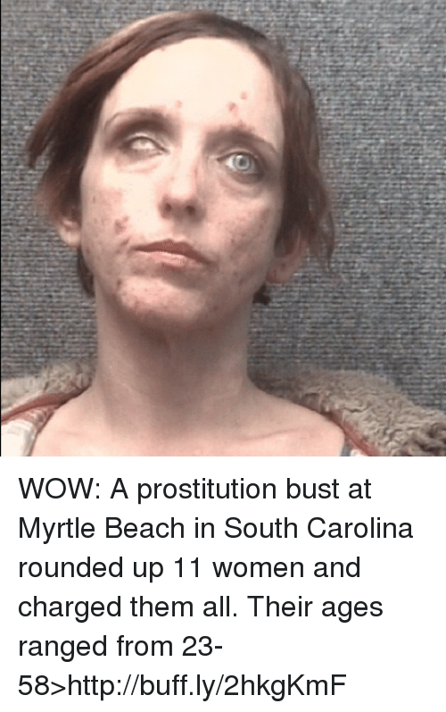 Prostitution Bust Myrtle Beach