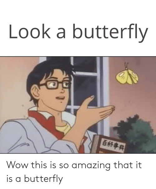 so amazing: Wow this is so amazing that it is a butterfly
